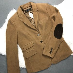 NWT Banana Republic Brown Elbow Patches Blazer 6NWT for sale